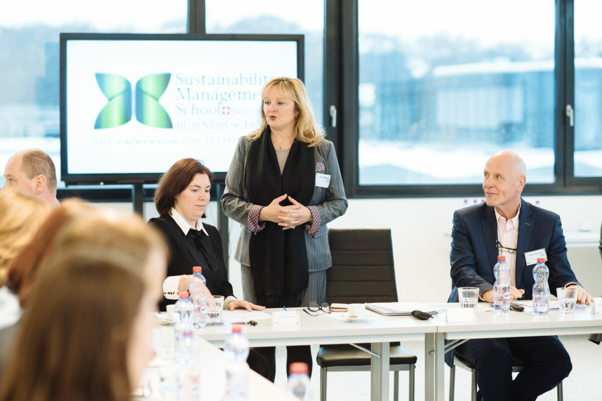 3rd Forum of Sustainability Management School: Roundtable on Sustainable Development in the Russian Industry