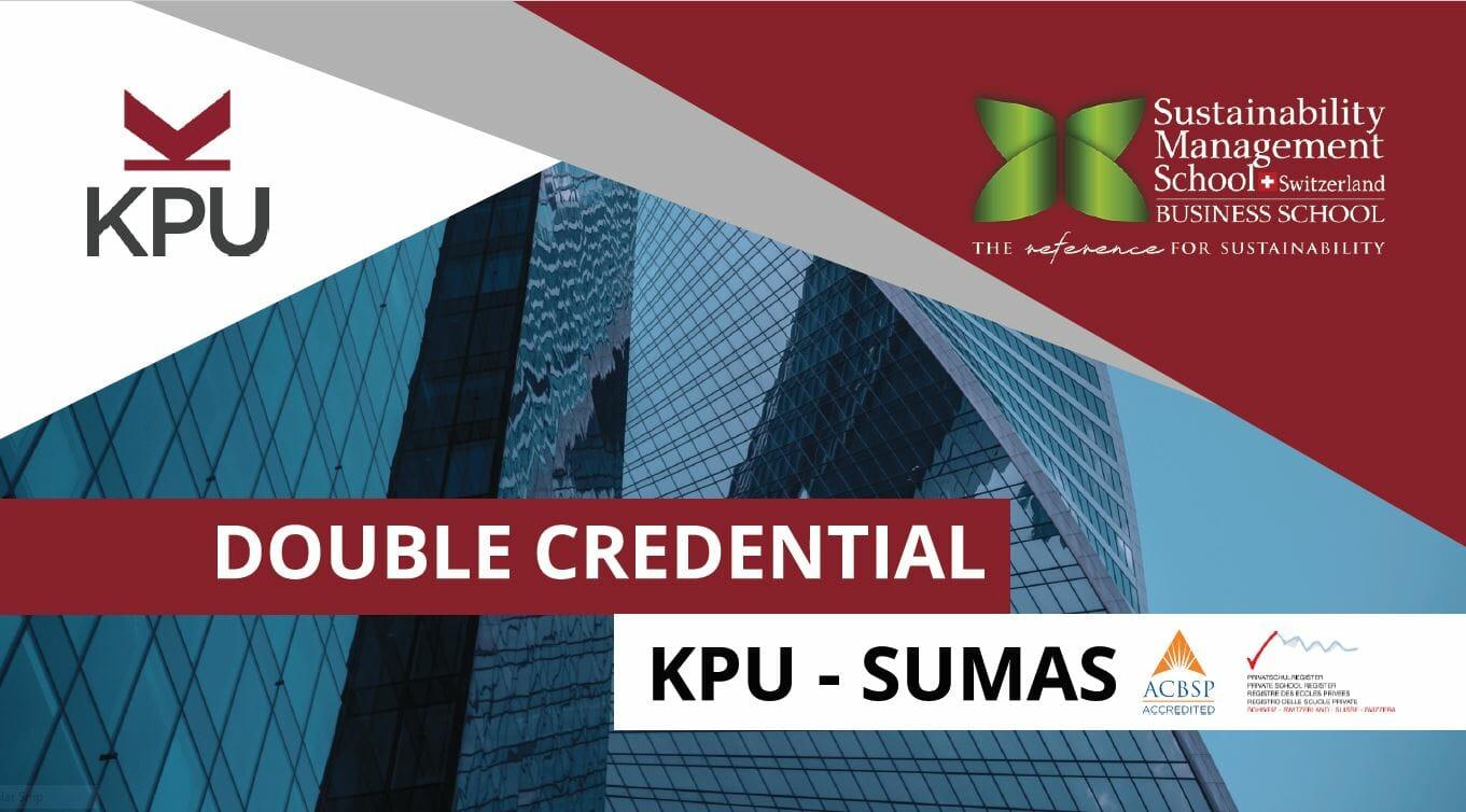 SUMAS and KPU, Double-Degree
