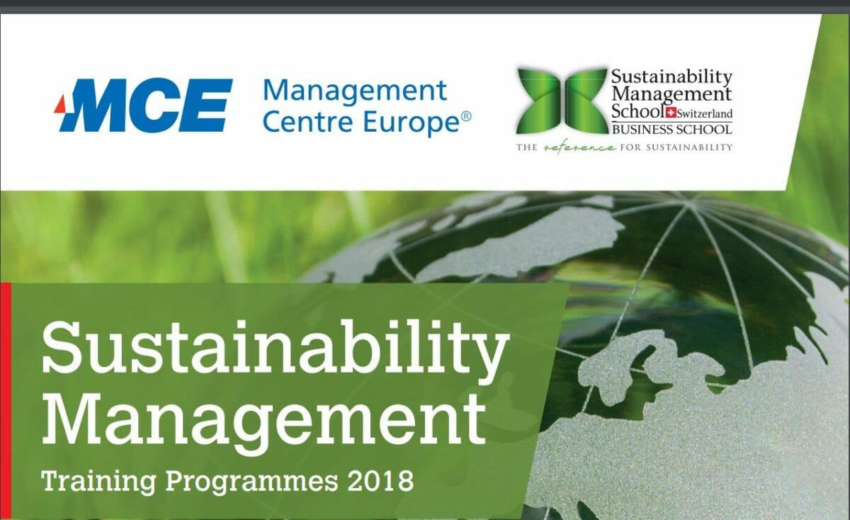 New Sustainability Management Trainings in partnership with SUMAS