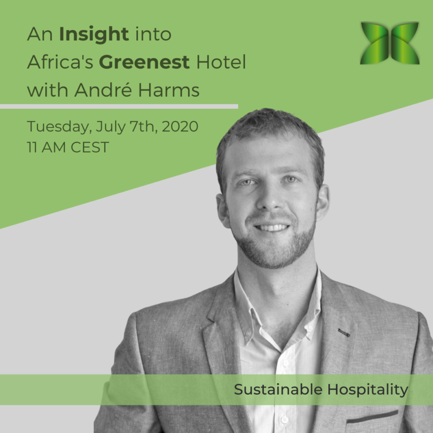 Sustainable Tourism Webinar Hosted by Prof. André