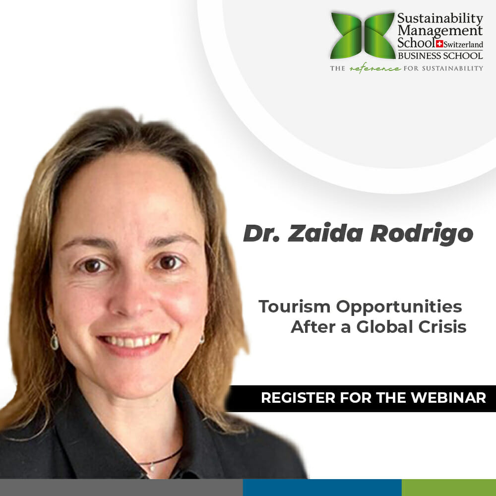 Sustainable Tourism Webinar Hosted by Prof. Zaida