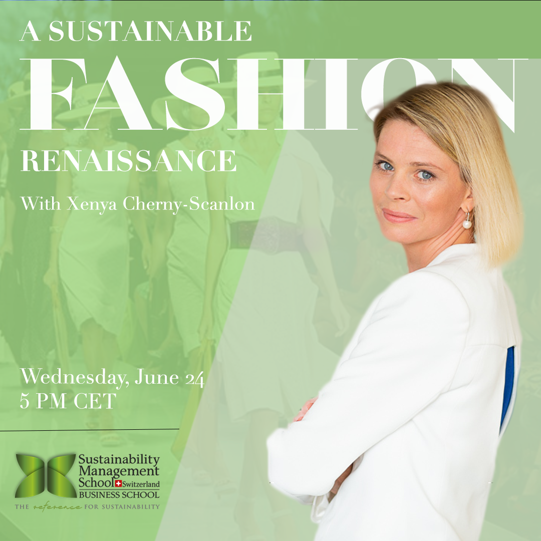 Sustainable Fashion Webinar by Prof. Xenya Cherny-Scanlon