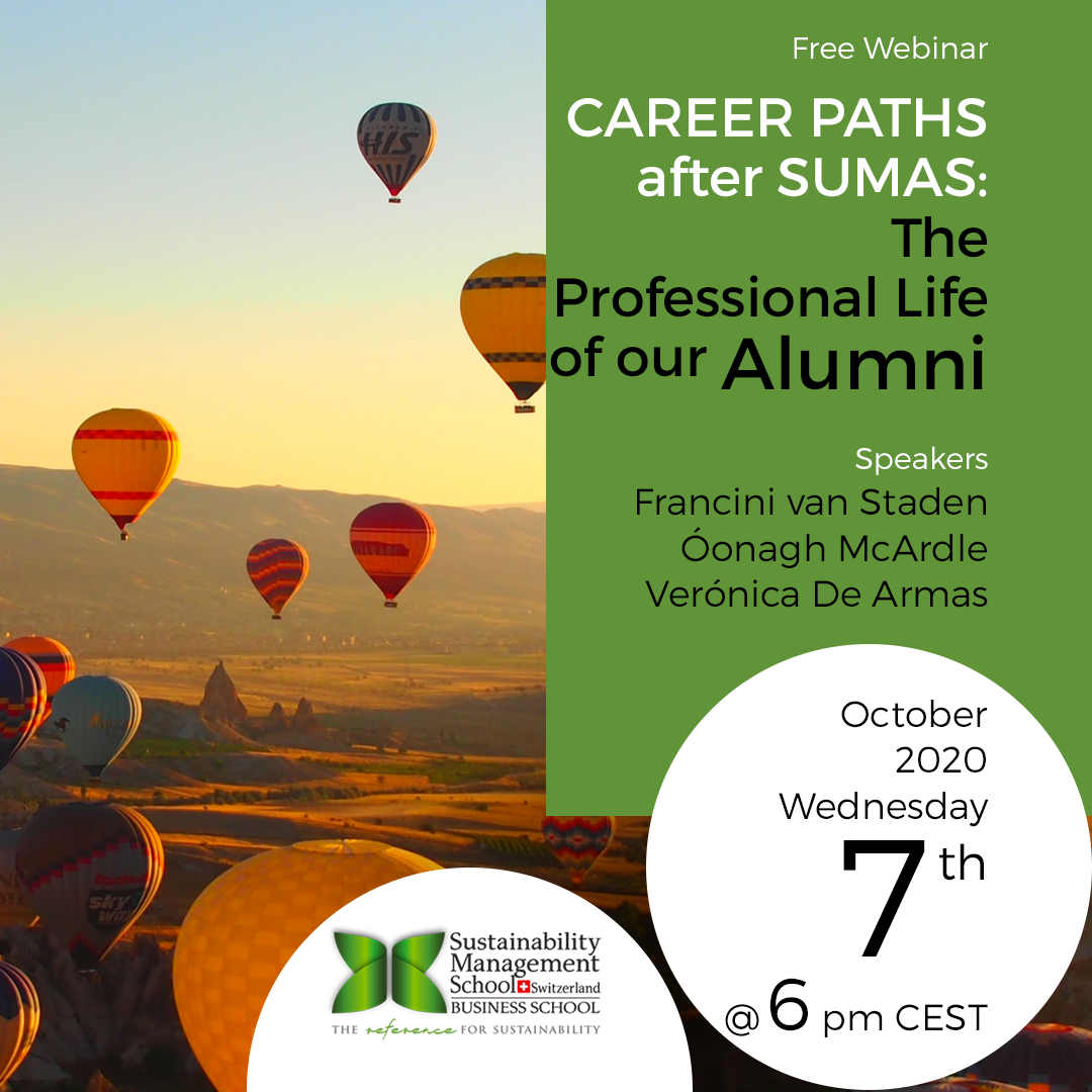 Career Paths after SUMAS: The Professional Life of our Alumni